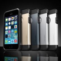 Spigen Slim Armor iPhone 5/5G/5S/SE Hard Case/HardCase/Tough/C Mantapz