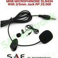 harga Mini Microphone 3.5mm Jack Sln434 Tokopedia.com