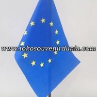 Bendera Meja Uni Eropa Buat Pajangan Kantor dan Rumah