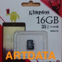 harga Micro SD Kingston SDHC 16gb Uhs-1 Class 10 80mbps Original Tokopedia.com
