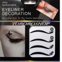 Jual EYE FLOWER|scott mata eyeliner, sticker eyeliner eyeliner tempeL KOREA Murah