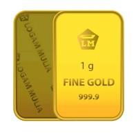 Gold Logam Mulia 1 Gram - 24 Karat Sertifikat Resmi Antam