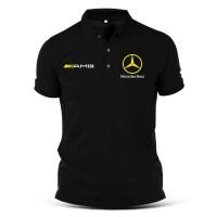 Polo shirt /Kaos kerah mercedes benz