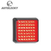 LED AUTOLAMPS 32-100RM ,LIGHT,STOP-TAIL,12/24V,BLK,RED