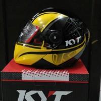 harga Helm Kyt Xrocket X Rocket Black Yellow Flou Glossy Roket Fullface Tokopedia.com