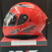 Helm KYT Vendetta 2 Red Solid Vendeta Fullface Full Visor Merah