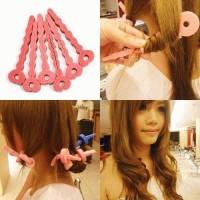 Jual BENDY ROLLER hair clip, Rambut Jadi Ikal Natural dgn Mudah dan Cepat Murah