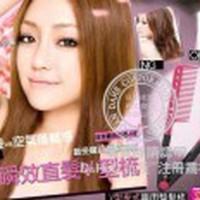 Jual SISIR ION CLIP ON DESIGN STRAIGHT HAIR DOUBLE V Model Sumpit. (BOX Murah