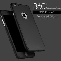 Jual TEMPERED CASE FULL PROTECTION COVER 360 NEO HYBRID IPHONE 5 6 6plus Murah