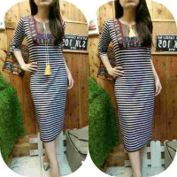 harga long dress 742 Tokopedia.com
