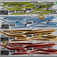 Striping Sticker List Click 125 Sporty 2016 Vario 125 / 150 LED ESP