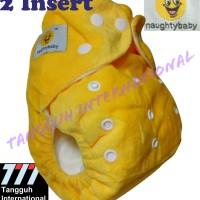 Clodi Beludru Minky NAUGHTY BABY Import Polos; Popok Bayi Obral Grosir