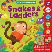 Ular tangga Snakes & Ladders Early Learning Games (EL-GAME-SNAKE)