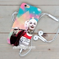 Harley Quinn Wallpaper Samsung Galaxy S6 EDGE case casing cover