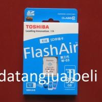 Toshiba Flash Air Wireless SD Card Class 10 32GB - SD-R032GR7AL03A - W