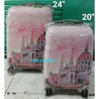 "Koper fiber motif Polo Garden 20"" pink city"