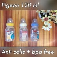 Jual Botol Dot Susu Bayi Baby Milk Bottle Pigeon 120ml BPA Free Newborn 0m+ Murah