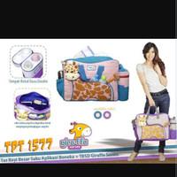 Jual Tas bayi Snobby/tas bayi besar saku aplikasi boneka Giraffe TPT 1577 Murah