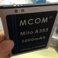 Baterai Mito A355 Ba-00041 Dobel Power Mcom 5000mah