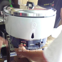 Gas Rice Cooker Rinnai RR50A Besar 9Lt Asli, Baru, Garansi Resmi