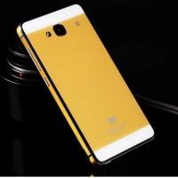 Aluminium Tempered Glass Hard Case Xiaomi Redmi 2/Redmi 2 Prime GOLD