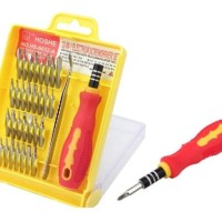 Obeng Set Toolkit 32 In 1 Lengkap Dengan Pinset / 32 In 1.