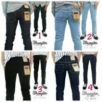 Jual Celana Jeans Wrangler / Celana Panjang Pria / Celana Skinnny Stretch Murah