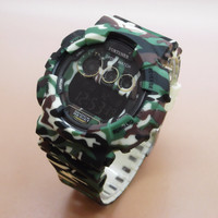 Jam Tangan Pria / Cowok Fortuner Original FR2095 Army Light Green