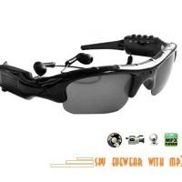 Spy Camera Eyewear MP3/ Kamera Pengintai Model Kaca Mata + Mp3
