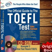 ETS The Official Guide to the TOEFL Test Edisi Keempat + CD