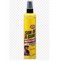 Pembersih Interior Mobil   STP Son Of A Gun Protectant Spray 10 Oz