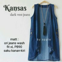 Jual vest jeans - cardigan - blazer - kimono - outer murah - baju wanita Murah