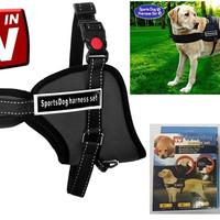 ES Sports Dog Harness Set untuk Anjing dan Kucing Maine Coon Ras Besar