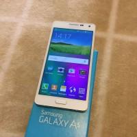Samsung Galaxy A5 16gb pearl white(Second) Kondisi 98%.Garansi 30 hari