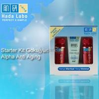 PROMO Hada Labo Gokujyun Alpha Ultimate Anti aging Series Stater Pack