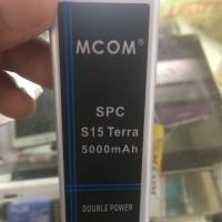 Baterai Spc S15 Terra 5000mah Double Power Mcom