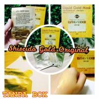 GROSIR Shiseido Naturgo Gold Mask 24k / Naturgo Mas / Masker Mas Naturgo