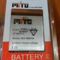 Baterai Batre Batere Battre Battery Mito A60 / BA-00076 Fantasy U