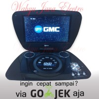 "GMC DVD PORTABLE + TV 9"" + Radio + Game DIVX-808T"