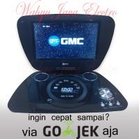 "GMC DVD PORTABLE + TV 9"" + Radio + Game DIVX-808T"