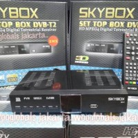 SKYBOX SET TOP BOX DVB SKYBOX HD MPEG4 DIGITAL TERRESTRIAL RECEIVER