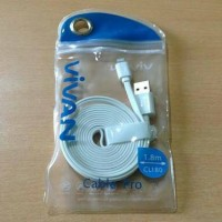 Kabel Charger Vivan IPhone 5 180cm Apple Lighting 180 Cm CL180 2 Meter