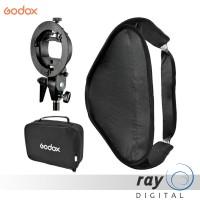 Godox Bracket S-Type With Softbox 40x40cm