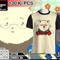 t-shirt americat hetalia reglan cream-black color