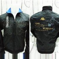 Jaket Kappa Athletic Hitam Biru (Bolak Balik)4