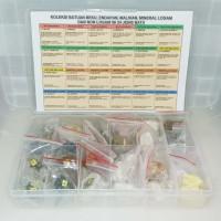 Koleksi Batuan Beku, Endapan, Malihan, Mineral Logam & Non Logam (24)