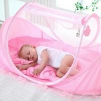 tempat tidur anti nyamuk kelambu bayi 3in1 kasur bayi bantal laris
