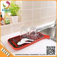 Kitchen double alat tiris cuci piring buah kecil