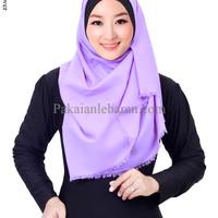 jilbab segi empat katun rawis/jilbab segi empat polos