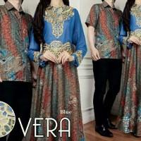 Couple Vera Baju Pasangan Batik Modern Terbaru Kemeja Gamis A040